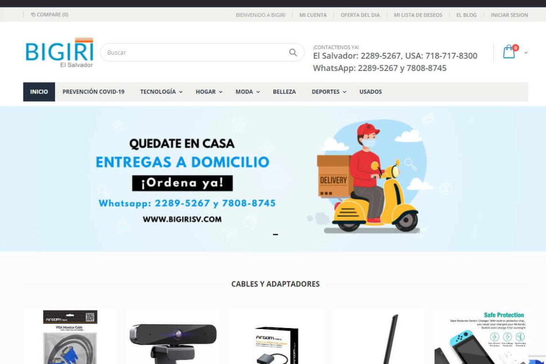 Bigiri El Salvador - Shopify