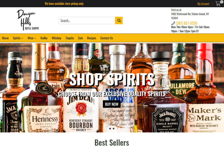 Dongan Hills Bottle Shoppe - Shopify